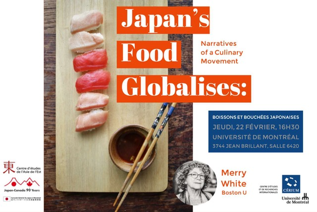 Japan's Food Globalises